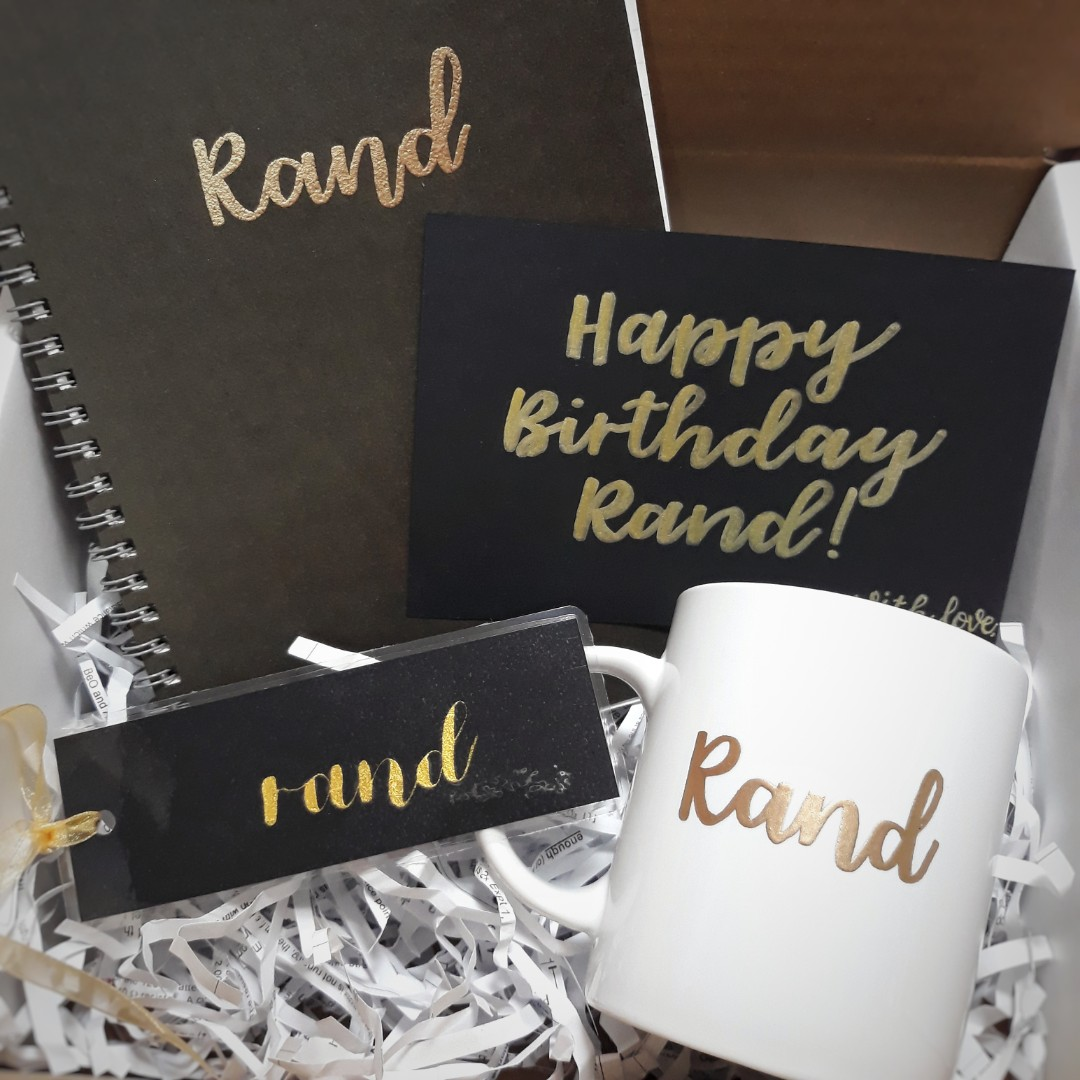 Personalised Gift Box Customised Customisable Bridesmaids