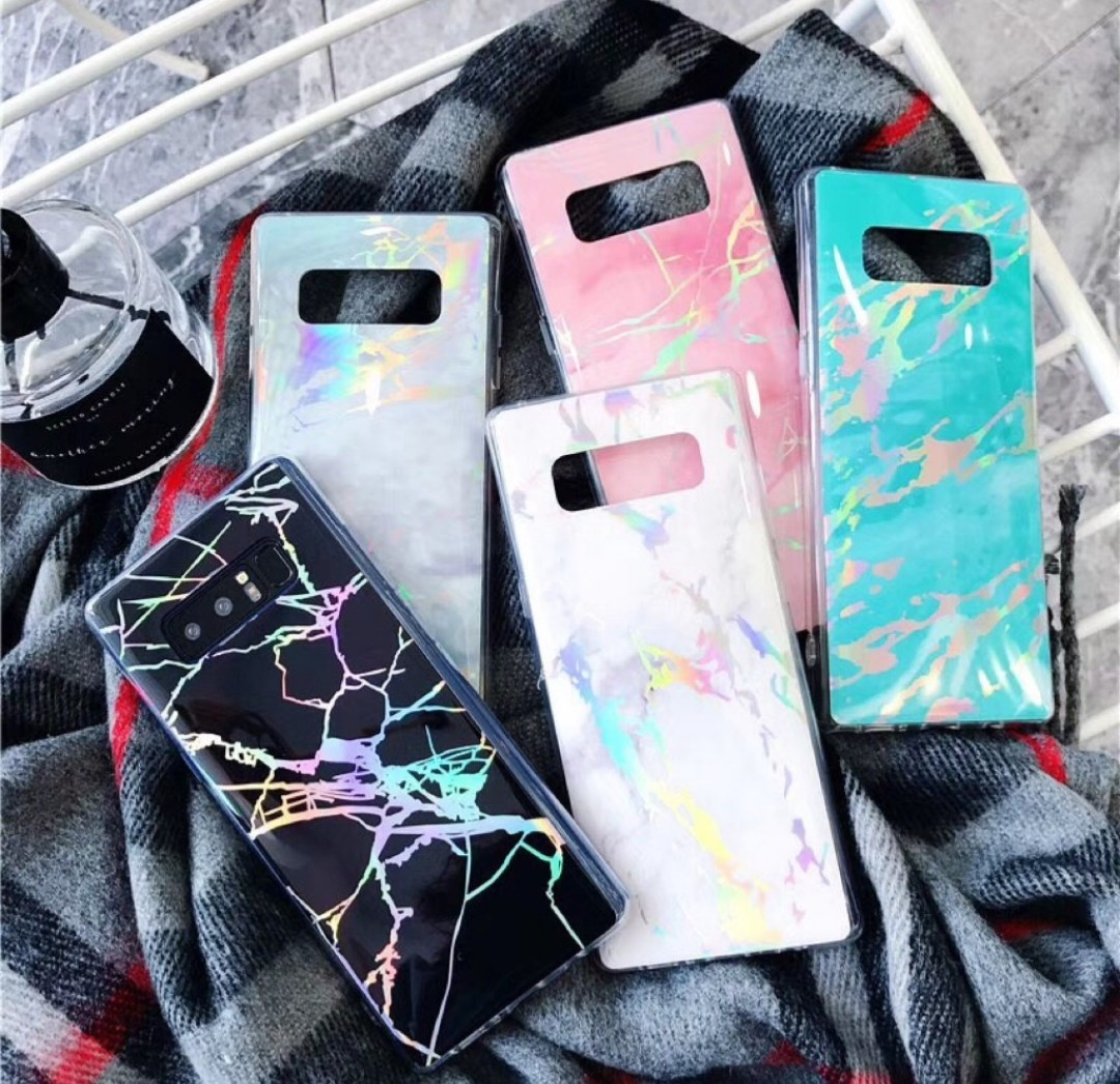 finest selection e0f38 e4252 Holographic marble phone case