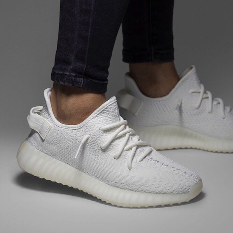 b2b599561fd29 Instock Adidas Yeezy Boost Kanye West 350 V2 White