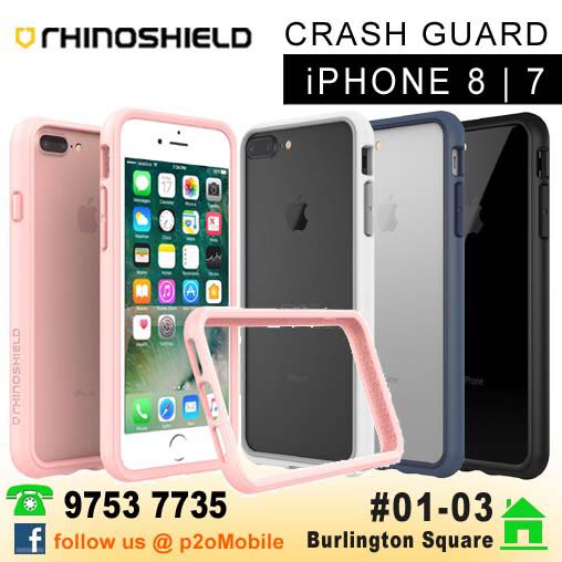half off 2c61a 7b232 [iPhone 8] RhinoShield Crash Guard Bumper for iPhone 8 | 7