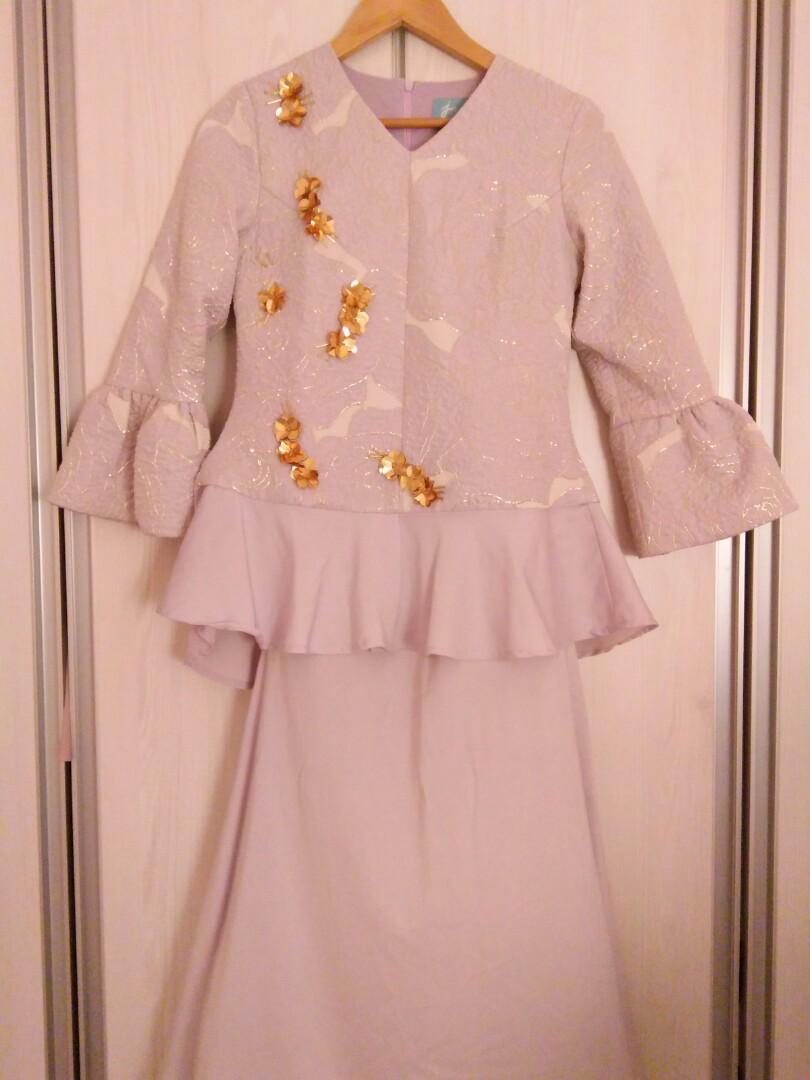 Jannahnoe Chryssa Luxe Kurung Muslimah Fashion Two Piece On Carousell The Olive House Gantungan Baju X Hangar