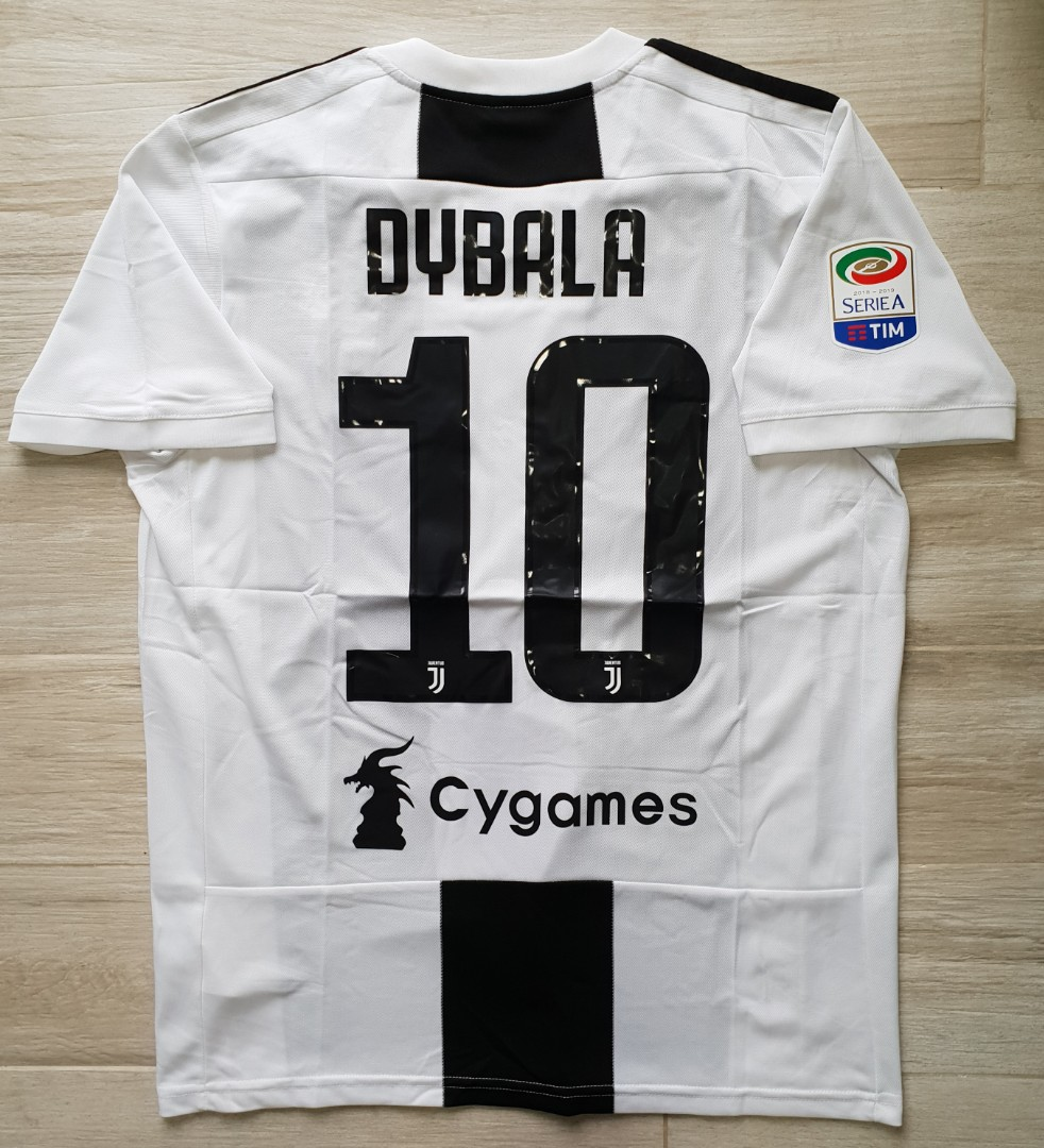 cf0ca785110 Juventus fan/player jersey 2018/19, Sports, Sports Apparel on Carousell