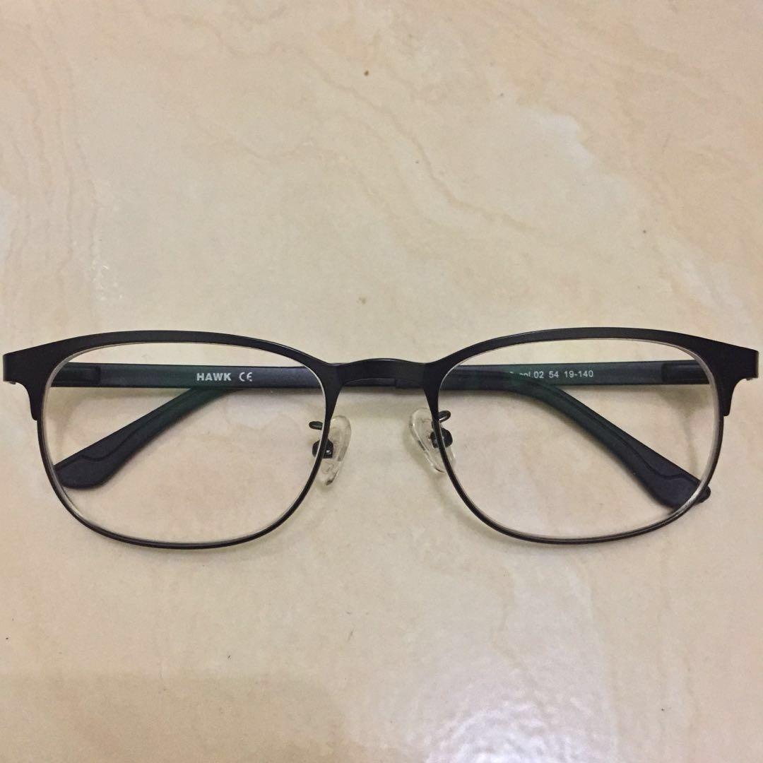 Kacamata Minus - Hawk Frame Glasses 8e94e025d4