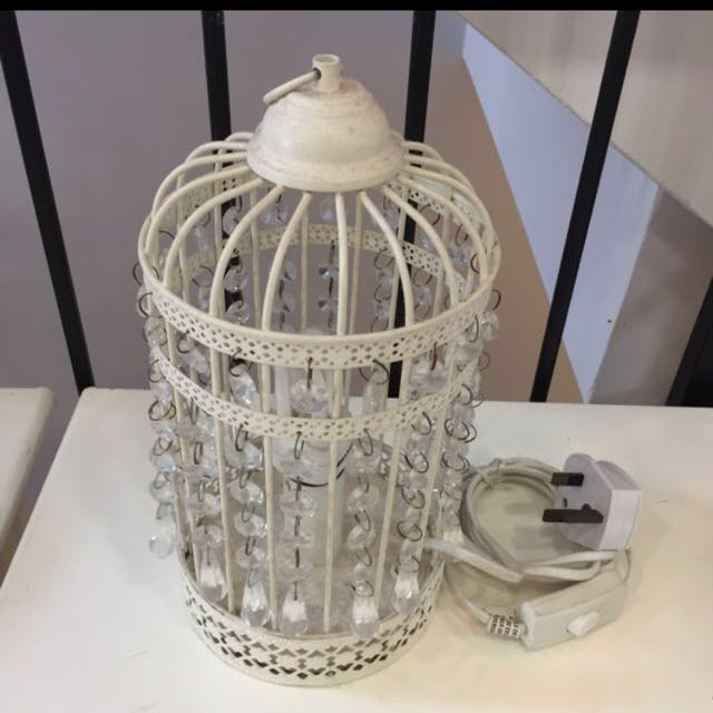 Laura Ashley Cage Lamp Furniture Home Decor Lighting Supplies