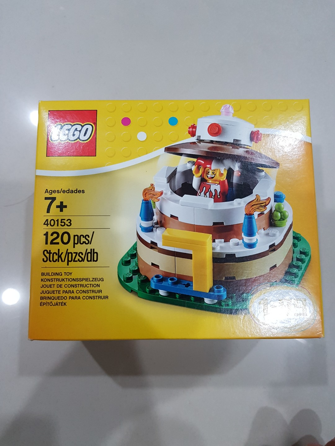Lego Birthday Cake 40153 Toys Games Other On Carousell