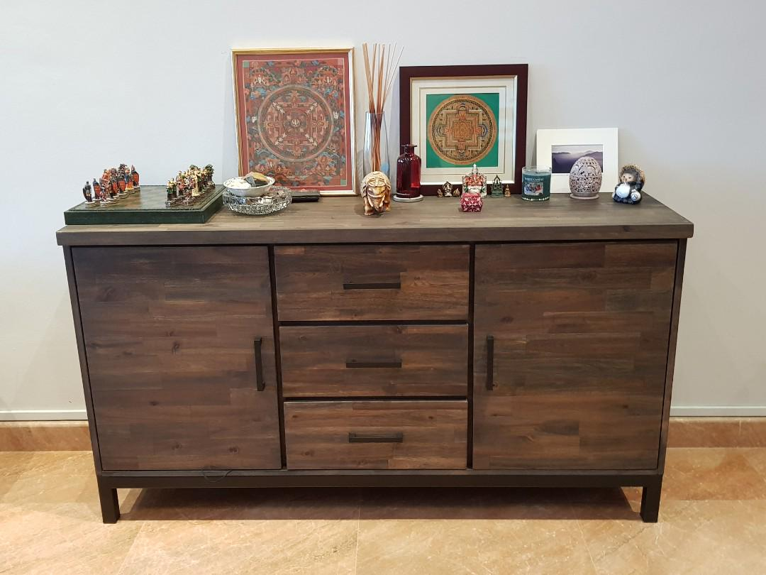 Living Room Sideboard Furniture Shelves Drawers On Carousell