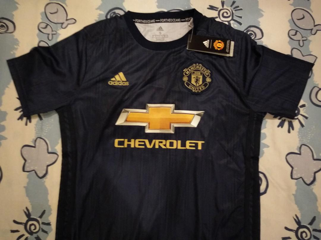 new concept 16de3 34b0d Man U Away Jersey 2018/2019, Sports, Sports Apparel on Carousell