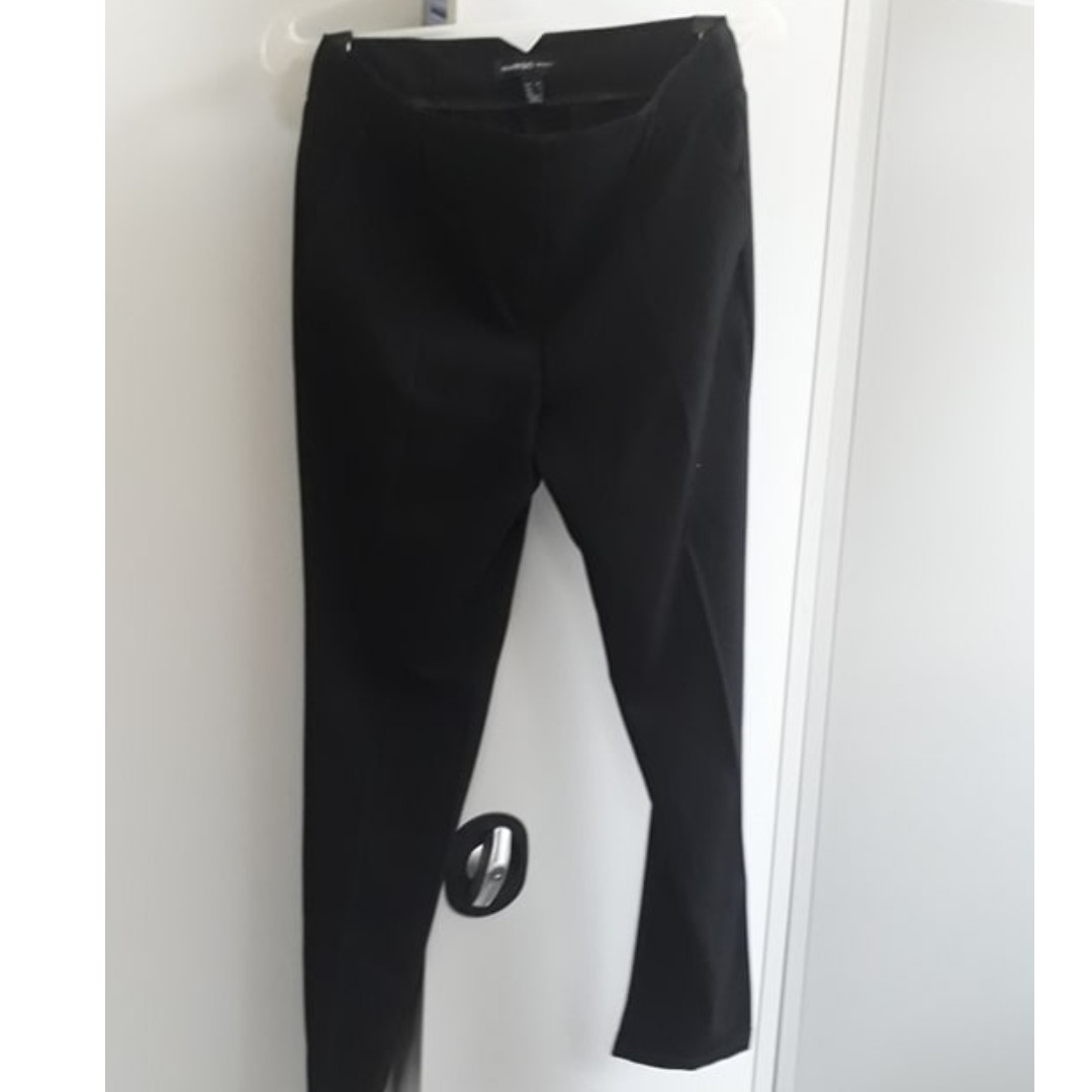 228afb882 Mango Black Slacks, Women's Fashion, Clothes on Carousell