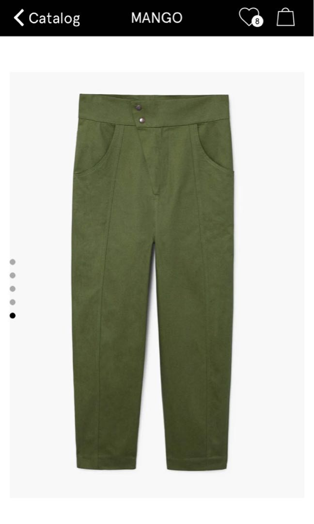 Mango Committed Highwaisted Pants c90042af2