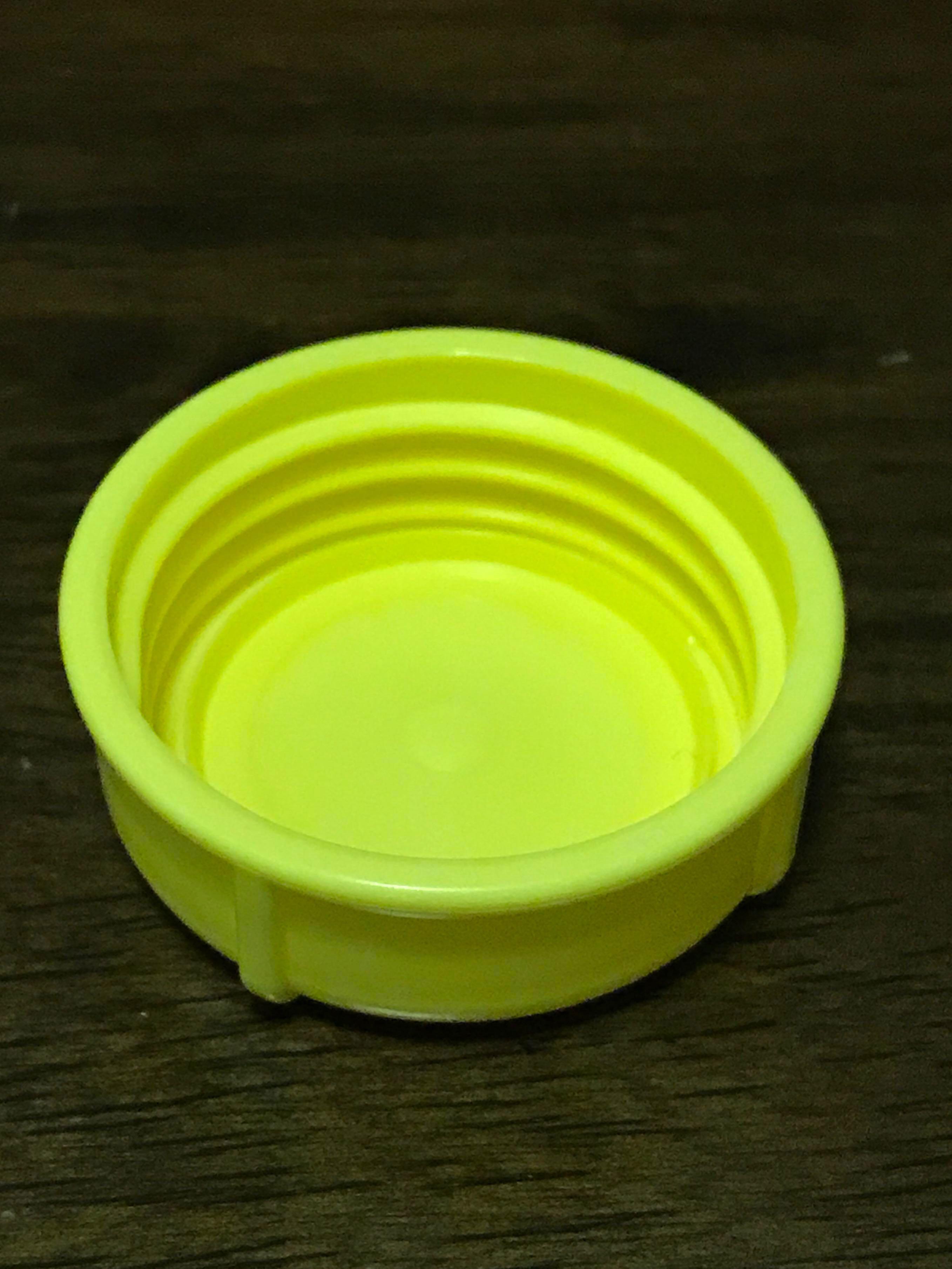 6 Medela Solid Lids for Yellow// solid cap// bottle lid// bottle solid cap