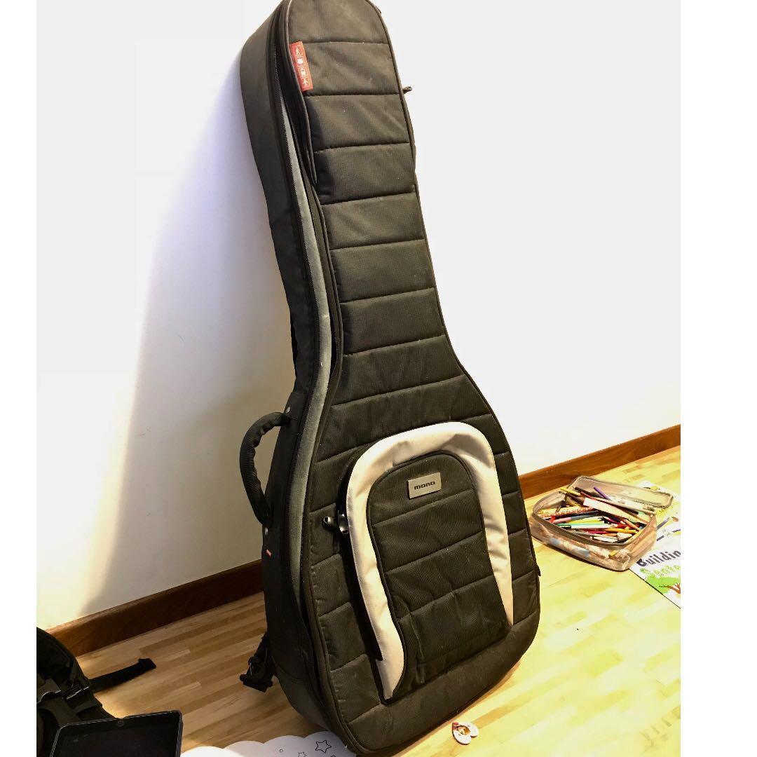3697642809 Mono m80 Classic Acoustic/Dreadnought Guitar Case, Music & Media ...