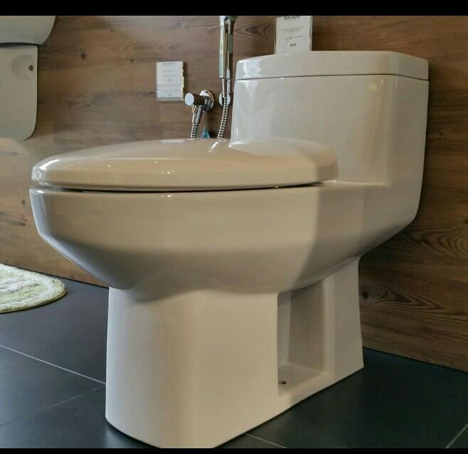 New Bravat toilet bowl