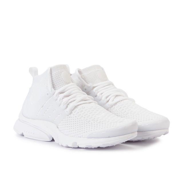 70158a6df7d8 Nike Air Presto Ultra Flyknit Triple White