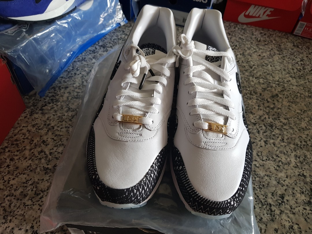 sports shoes 29551 06f38 Nike Airmax 1 BHM, Men s Fashion, Footwear, Sneakers on Carousell