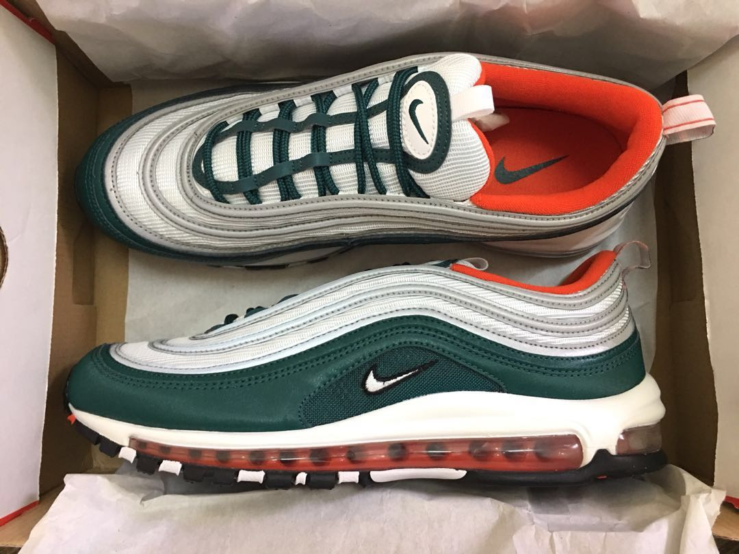 reputable site 7a10a a9875 Nike Airmax 97 Rainforest / White-Team