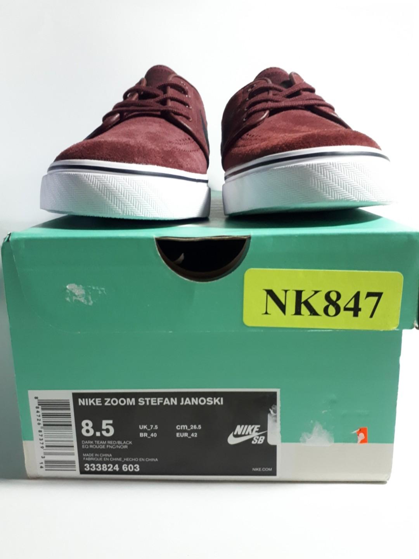 purchase cheap cfee0 c61f2 Nike SB Janoski Dark Team Red on Carousell