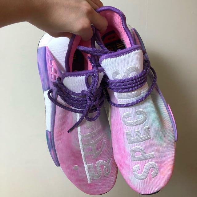 1039ae7f81341 NMD Human Race Trail Pink Glow Pharrell Williams