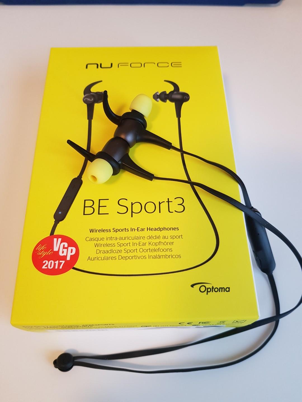 07aac7622f2 Optoma Nuforce Be Sport 3 Wireless In-Ear Headphones, Electronics ...