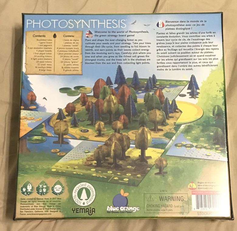 Photosynthesis Board Game - BNIS