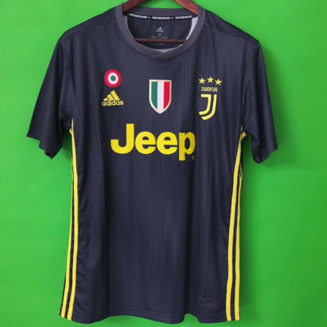 low priced ab823 5ce3a PO) Juventus New 18/19 3rd Kit, Sports, Sports Apparel on ...