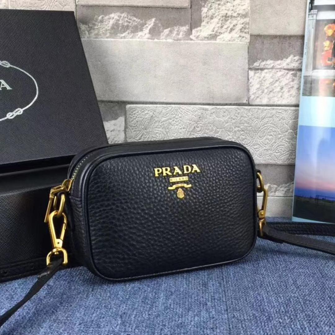 89aea12b8841a4 Prada Black Crossbody Bag, Women's Fashion, Bags & Wallets, Handbags ...