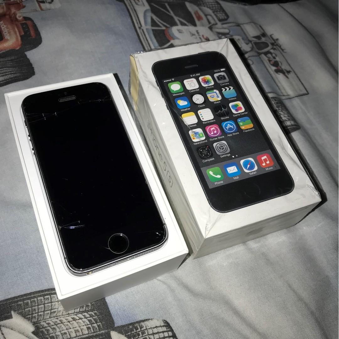 Preloved (used bekas) iPhone 5S 16gb Unlocked Space Grey d69977f50d