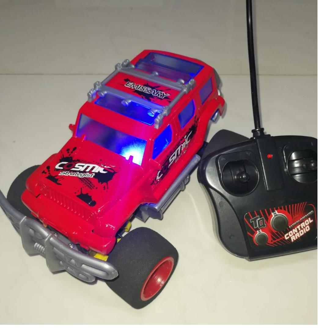 Remote Control Battery Operated Sport Utility Vehicle Car Turbo 4