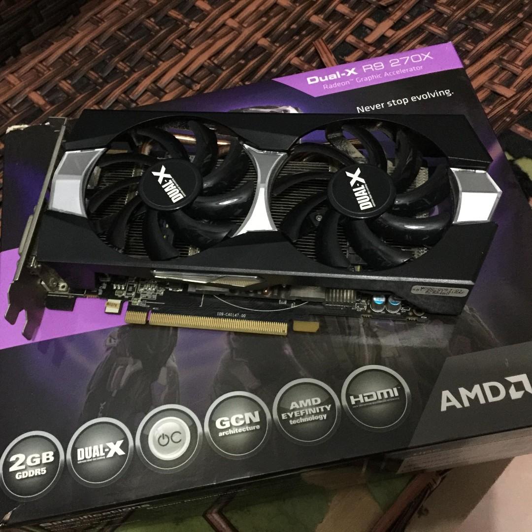 Sapphire Dual-X AMD R9 270x 2GB DDR5