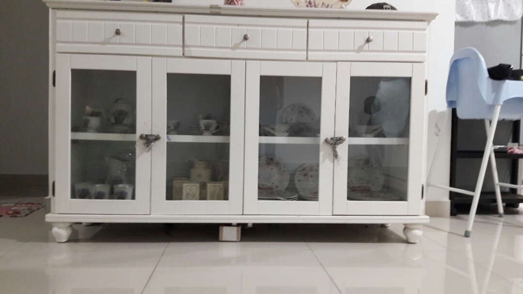 Set Kabinet Cermin Pinggan Mangkuk Home Furniture On Carou