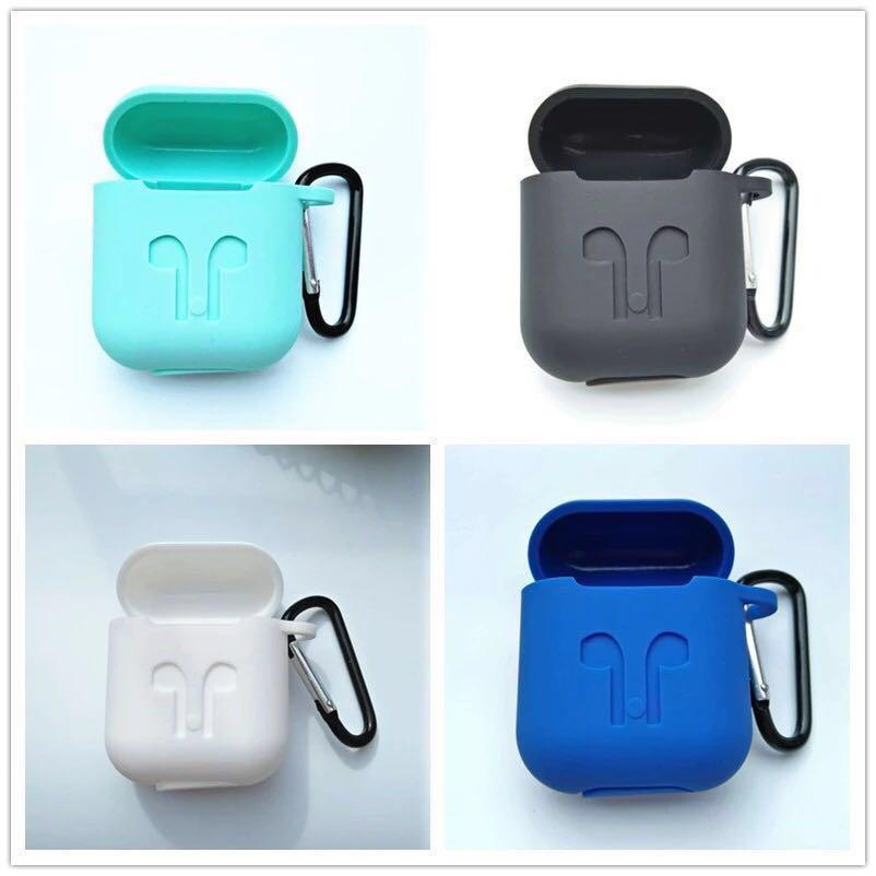 pods earphone box accessories Silicone shock proof protector sleeve for air
