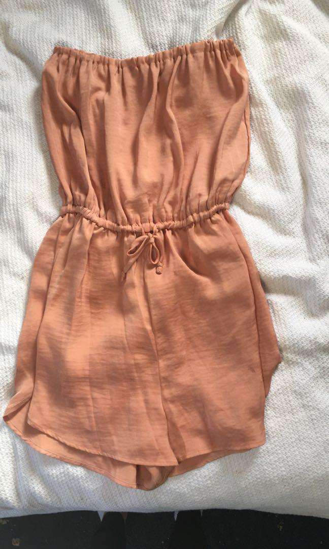 Silky playsuit
