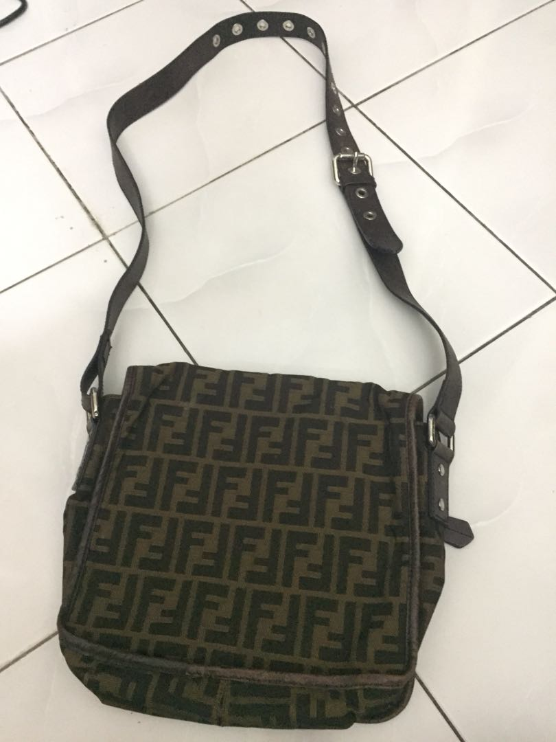 Sling Bag Fendi Original, Men s Fashion, Bags   Wallets on Carousell 842f24cdc1