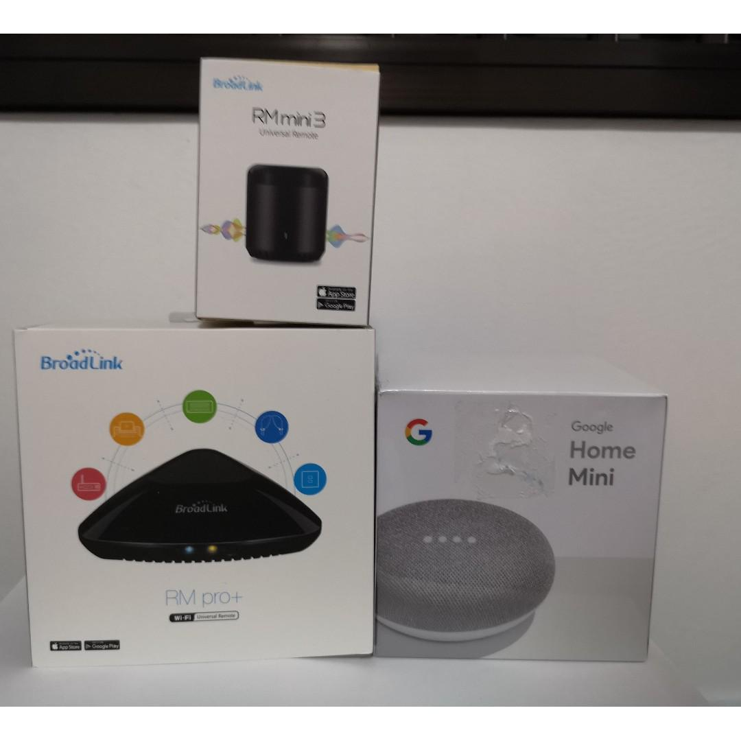 Smart Home Promotion Bundle 4 (Broadlink + Google