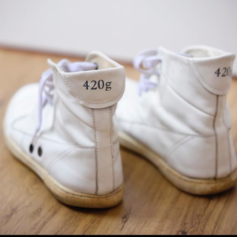 Sweden Cult Brand Gram Shoes 420g White
