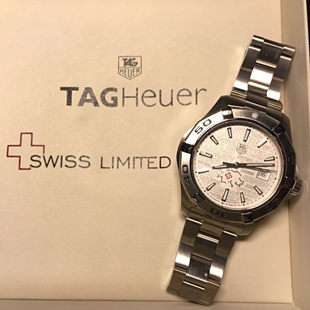 43d048134dd8 Tag Heuer Swiss Limited Edition luxury timepiece