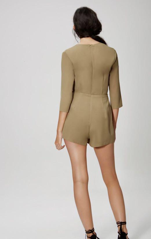 The Fifth Label Khaki Playsuit