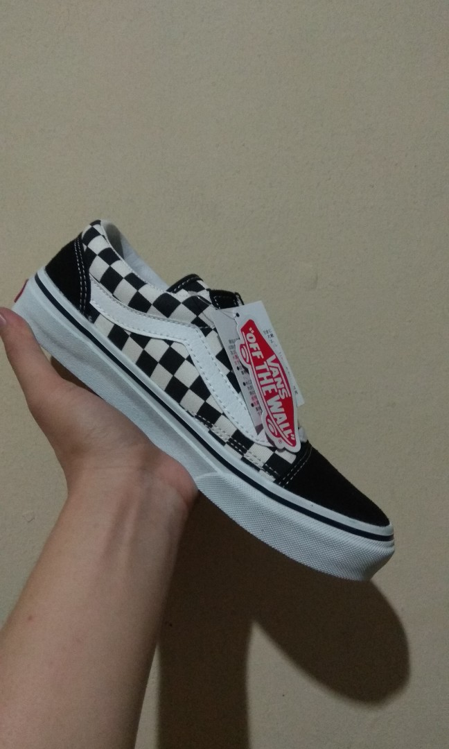 a5a4580ecc Vans Old Skool Japan V36-38 CHK BLK WHT