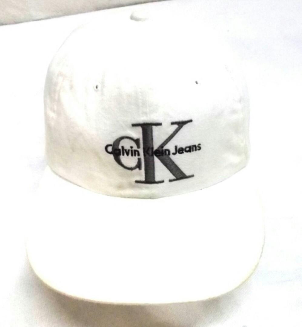 693d0a76a4b Vintage CK By Calvin Klein Trucker Cap