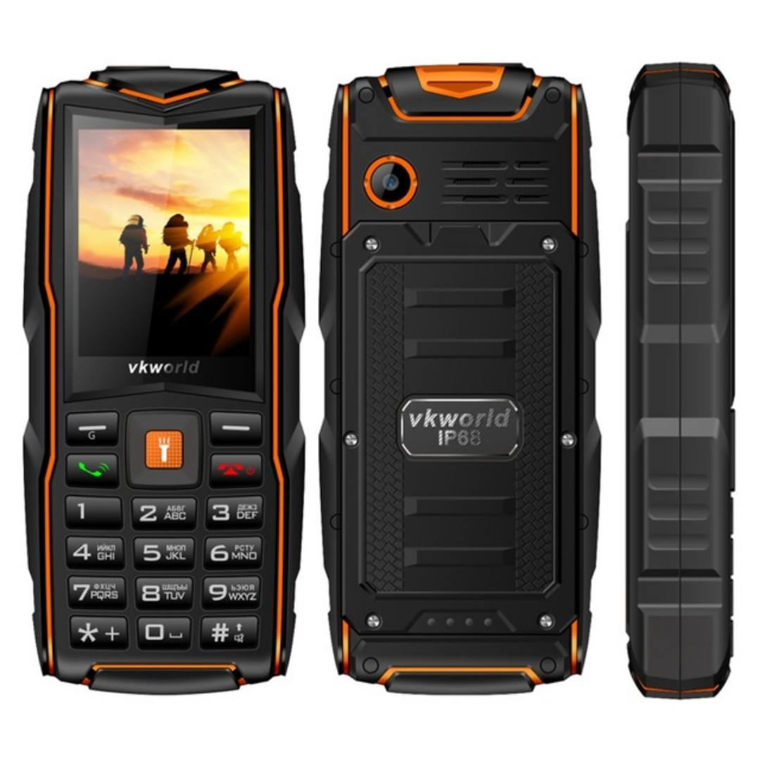 pretty nice 5bc11 67838 VKWorld New Stone V3 Waterproof Mobile Phone IP68