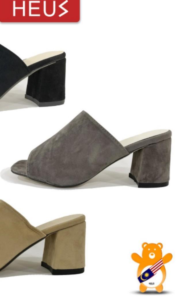 Wedge heels grey size 38/39