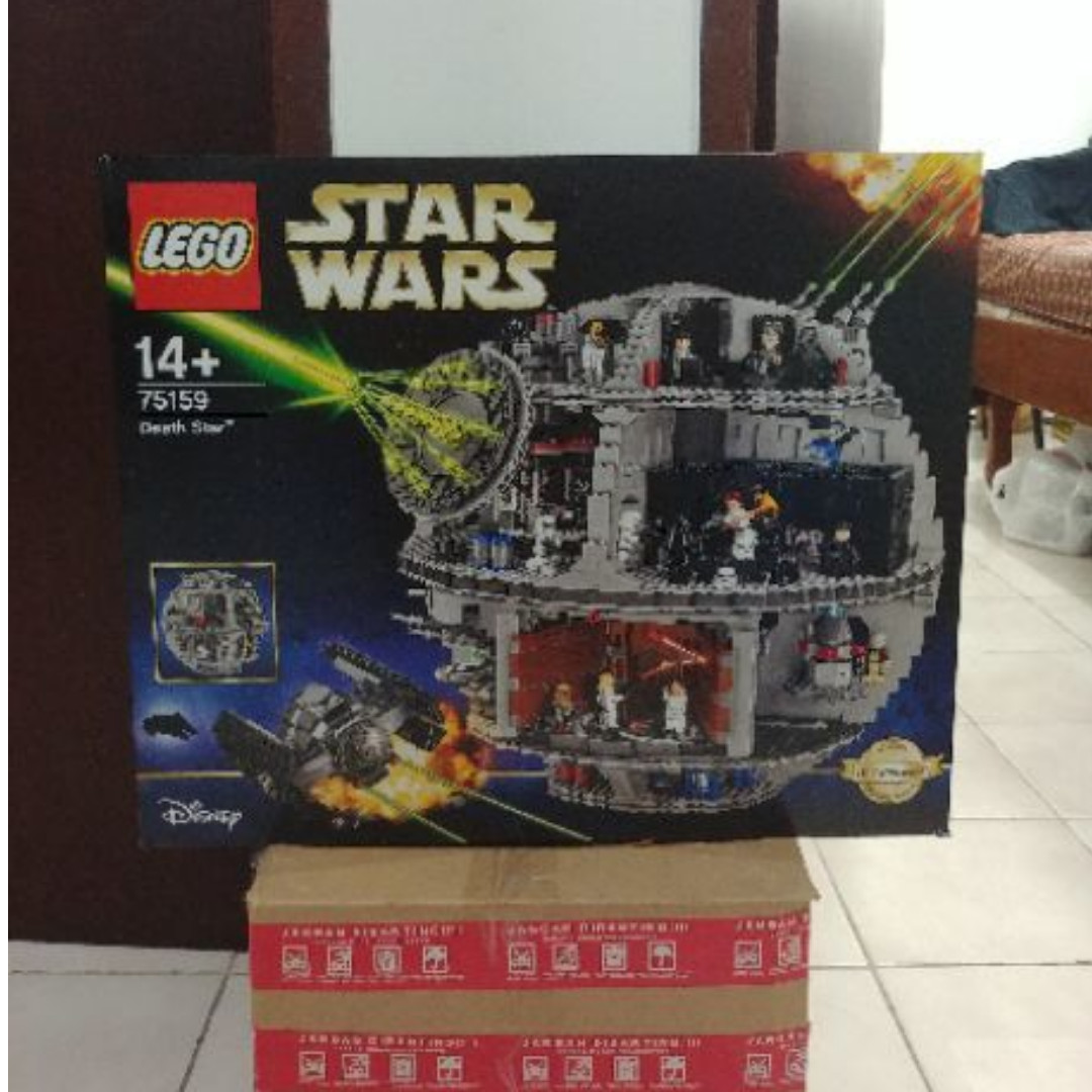 Wts Lego Star Wars Ucs 75159 Death Star Toys Collectibles Toys