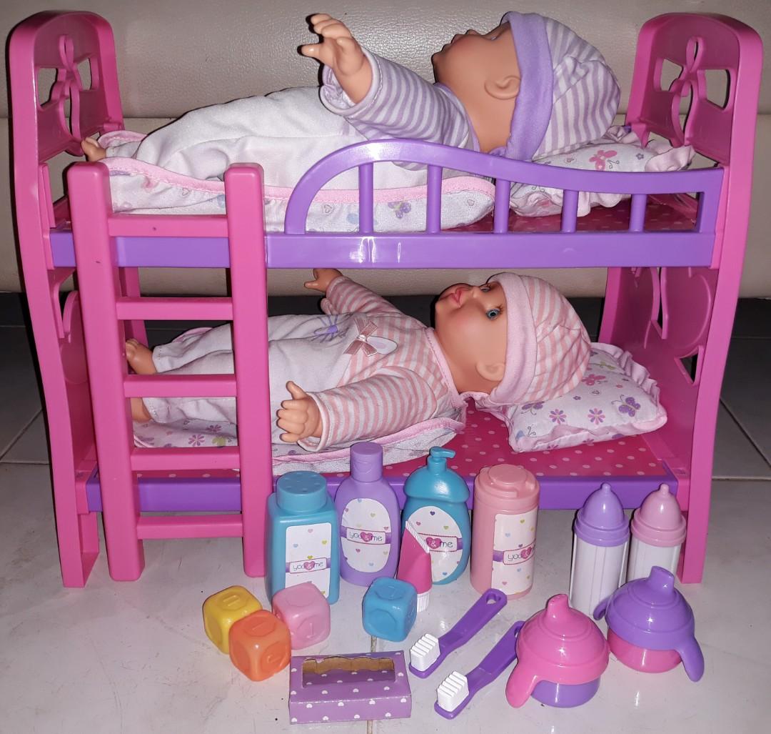 You Me Toys R Us Bedtime Dreams Twins Bunk Bed Set Babies