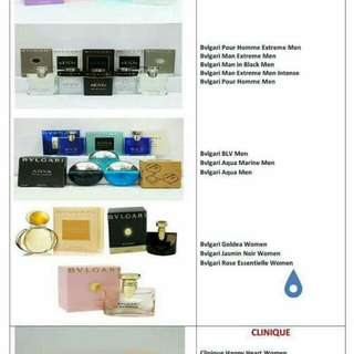 AUTHENTIC PERFUME FOR SALE!!!