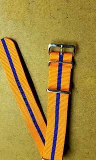 20mm Orange Nato Strap