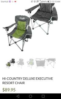Hi Country Camping foldable portable collapsible chair