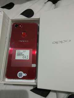 Oppo F7 red ram 4gb