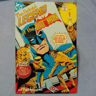 DC Comics The Untold Legend of the Batman (3-part mini-series) Complete Set