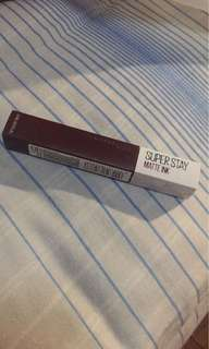 Maybelline super stay matte