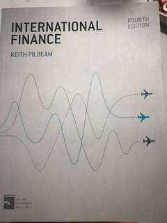 International Finance by Keith Pilbeam