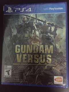 PS4 Gundam Versus (New)